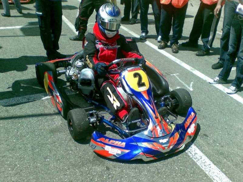 Lee_testing_new_IAME_shifter_125_after_his_1st_heat_win