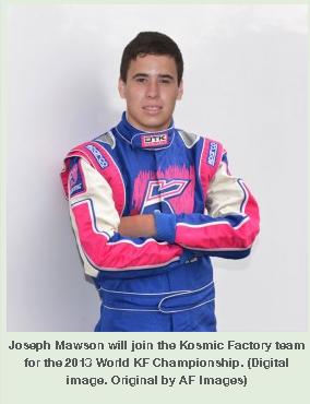 2013 JOSEPH MAWSON KOSMIC
