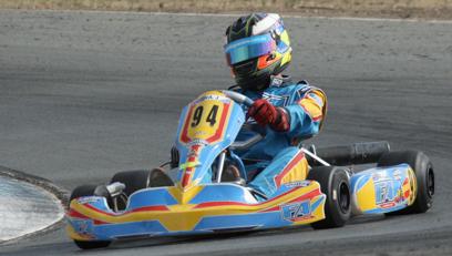 2013 James Sera 1st CL FA kart Vic Open