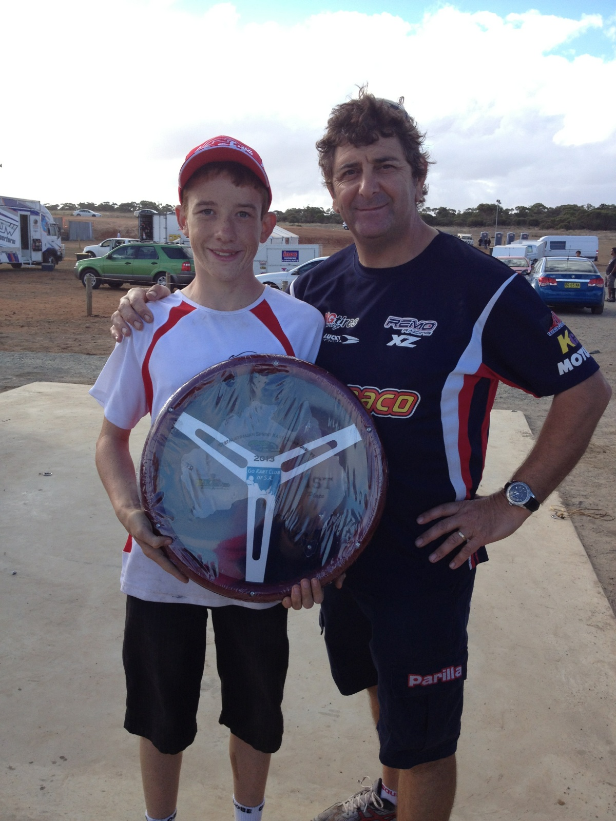Josh denton 2013 JC Aust Champ with Remo Monarto