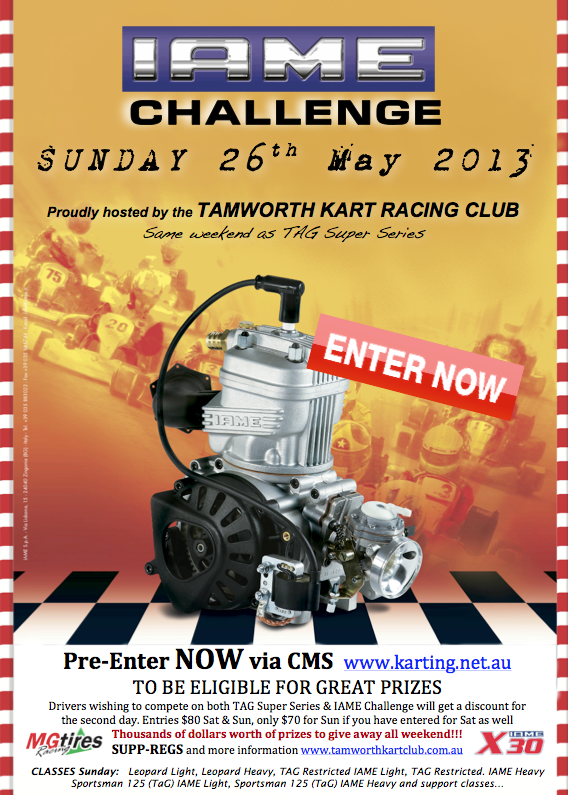 2013 NSW IAME CHALLENGE 26MAY