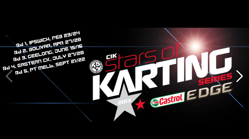 2013 stars of karting logo