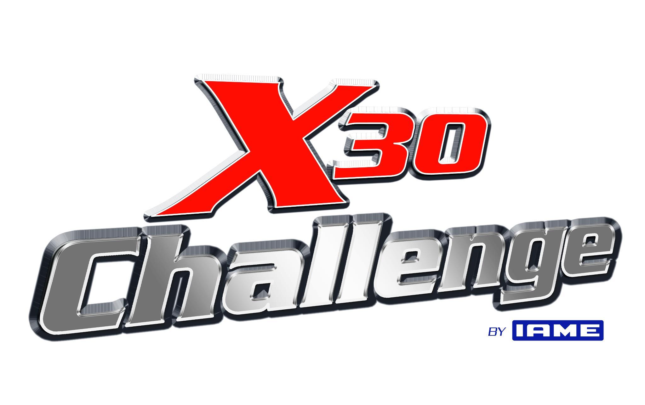 X30 CHALLENGE BY IAME LOGO W