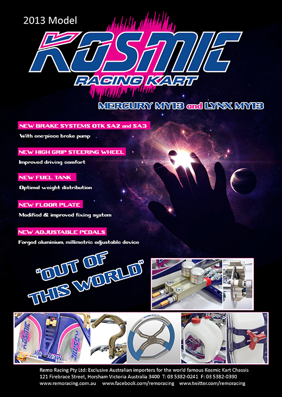 2012 KARTX ADVERT KOSMIC