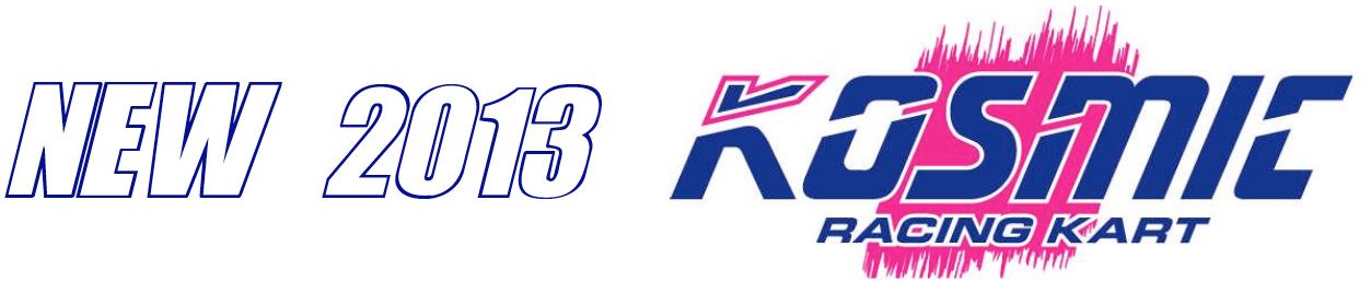 new 2013 kosmic kart banner