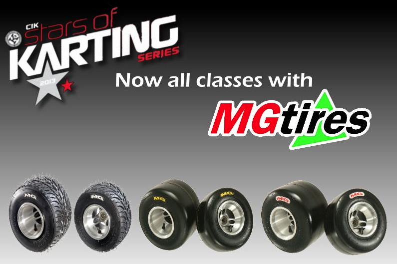 2013 STARS OF KARTING SERIES - All classes MG TYRES